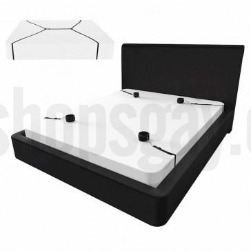 kit de ataduras para cama