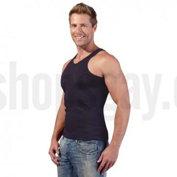 Camiseta de tirantes con efecto de faja reductora