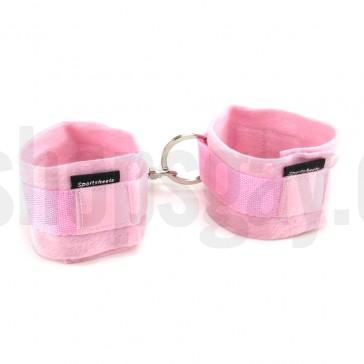 Esposas rosas con cierre de velcro