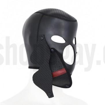 Mascara  fetish de neopreno