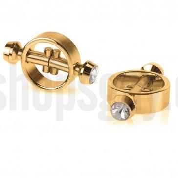 Piercing magnetico dorado