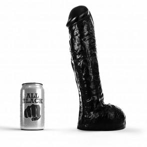 Dildo negro 30 cm