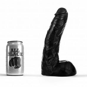 Dildo realistico negro de 22 cm