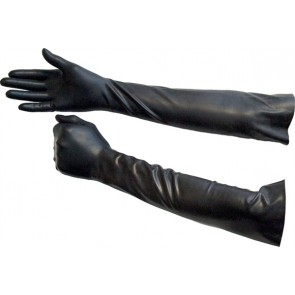 Guantes largos de rubber