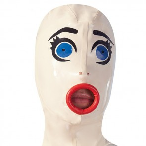 Mascara muñeca hinchable