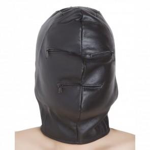 Mascara de cuero. Mascara BDSM.