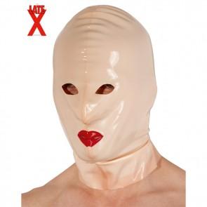 Mascara de látex sumisión sissy