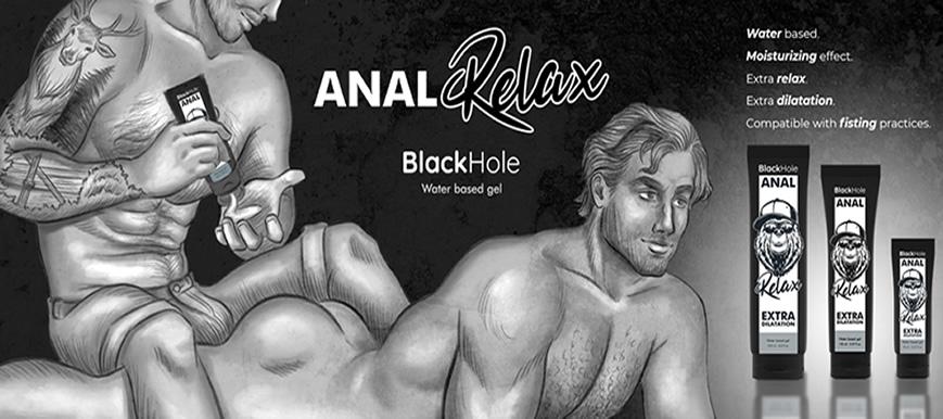 Lubricante Anal Dilatador Black Hole