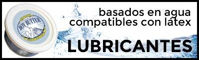 Lubricantes basados en agua compatibles con preservativos