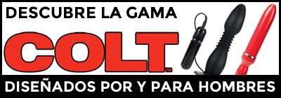 Dildos, vibradores y masturbadores oficiales COLT Studios