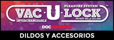 Dildos y accesorios Vac-U-Lock
